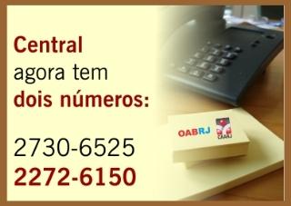 Central de Atendimento OAB/CAARJ